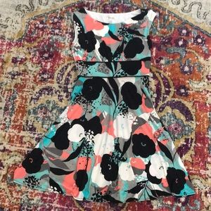 Dress Barn midi length floral dress